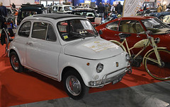 Fiat 500 // PT-97276 (baffalie) Tags: auto voiture ancienne vintage classic old car coche retro expo italia sport automobile racing motor show collection club course race circuit italie milan fiera moto bike motorbike motocycle