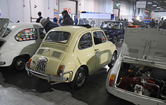 Fiat 500 L // MI-L72422 (baffalie) Tags: auto voiture ancienne vintage classic old car coche retro expo italia sport automobile racing motor show collection club course race circuit italie milan fiera moto bike motorbike motocycle