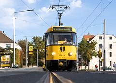 T4D-MT 224 218, Dresden (rengawfalo) Tags: tram tramway dresden tatra t4d sachsen saxony strasenbahn train railroad bahn dvbag tranvia tramvaj ckd elektricka öpnv tramwaj sporvogn road car city urbanrail publictransport windshield