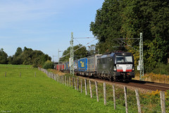 MRCE 193 669 in Vogl, 20.09.2019 (-cg86-) Tags: mrce mitsuirailcapitaleurope br193 vectron siemens containerzug klv
