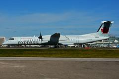 C-GJZF (Air Canada express - JAZZ) (Steelhead 2010) Tags: aircanada aircanadaexpress jazz bombardier dhc8 dhc8q400 yyz creg cgjzf