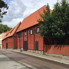 Karlshamn Cultural Quarter IV (hansn (5+ Million Views)) Tags: karlshamn blekinge sweden sverige architecture arkitektur building byggnad red faluröd röd street gata