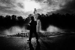 Water   Berlin   Germany (gaalvarezc) Tags: photography street streetphotography stphotographia shadow sky silhouette water white bw blackwhite blackandwhite black bnw bnwphotography monochrome fountain berlin germany fuji fujifilm