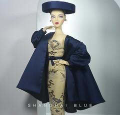 Shanghai Blue (Hoang Anh Khoi) Tags: genemarshall jamieshowgenedollmadralordspottedinmanhattan jamieshowvioletwatershollywoodcanteen hollywoodcanteen east meets west gene ithappenedon5thavenue luna li hoanganhkhoi