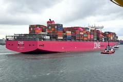 ONE AQUILA (Goolio60) Tags: ship shipping container cargo southampton