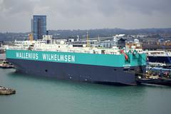 ELEKTRA (Goolio60) Tags: ship shipping roro vehicles port southampton