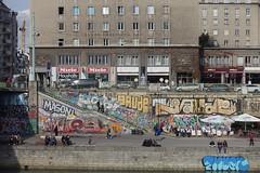 Vienna (Wien) - DonauKanal - 4 (fred.weg) Tags: vienna wien austria donaukanal kanal donau danube quay vienne
