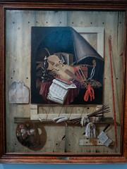 Nature morte en trope l'oeil (bpmm) Tags: lerêvedêtreartiste lille nord palaisdesbeauxarts art expo exposition peinture