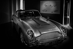 DB5 - James Bond Exhibit London 2019 (andrew_camin) Tags: aston martin db5 007 silver car london exhibition james bond skyfall