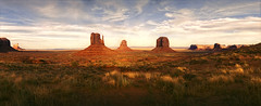 Monument Valley, AZ (The 69th Dimension) Tags: film analog analogue 35mm landscape widelux monumentvalley arizona southwest desert panorama cinestill