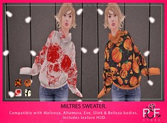 ::PCF:: Miltres Sweater (pcfstoresecondlife) Tags: women release outfit promo second secondlife sl store slink site sweater fitmesh female altamura eve fantasy girl hud life virtual virtuallife virtualstore belleza hourglass physique freya isis venus new newrelease maitreya marketplace marketplacesl mesh tmp