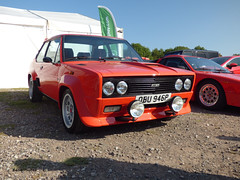 131 (BenGPhotos) Tags: 2019 castle combe rallyday rally day sports car red fiat 131 abarth italian classic obu946p
