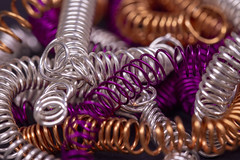 Feeling Springy! (me.behindthelens) Tags: macromonday wire macro springs craft craftwire
