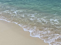 Where the sea meets the land... ocean versus sand on the shoreline at the beach (Dobbidodarr) Tags: ocean desktop sea beach southamerica water mexico seaside sand paradise background shoreline tranquility shore land copyspace rivieramaya tranquil sandybeach ebbing roomforcopy ebbsandflows waves wave cancun cancún playa bahiaprincipe bahiaprincipesianka'an latinamerica