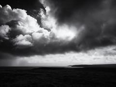 Butt of Lewis (Feldore) Tags: outerhebrides butt lewis dramatic sky clouds storm landscape outer hebrides feldore mchugh em1 olympus 1240mm rain mono black white