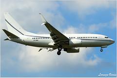 (Sir George R. F. Edwards) Tags: avgeek plane planelover planespotter planespotting aviation aviationspotter aviationspotting airport canon 7dmarkii usal ltd boeing 737 bbj