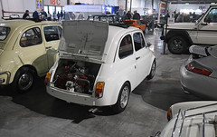 Fiat 500 réplica Abarth // NA-R29935 (baffalie) Tags: auto voiture ancienne vintage classic old car coche retro expo italia sport automobile racing motor show collection club course race circuit italie milan fiera moto bike motorbike motocycle