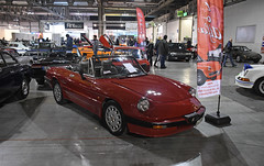 Alfa Romeo Spider (baffalie) Tags: auto voiture ancienne vintage classic old car coche retro expo italia sport automobile racing motor show collection club course race circuit italie milan fiera moto bike motorbike motocycle