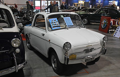 Autobianchi Bianchina trasformabile (1961) // GE-153526 (baffalie) Tags: auto voiture ancienne vintage classic old car coche retro expo italia sport automobile racing motor show collection club course race circuit italie milan fiera moto bike motorbike motocycle