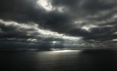 The Pacific (Rabican7) Tags: pacificocean ocean endless endlessblue cloudy seascape cloudscape sea sky view storm sun magical water darkness light rays california peaceful landscape sandiego lajolla socal southerncalifornia shore cliffs