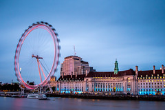 London eye (divenow0466) Tags: london londres eye vacation town ville heure bleue blue hour city