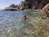 Clear water (piotr_szymanek) Tags: lloret costabrava lloretdemar marzka woman milf portrait outdoor water sea nude swim swimming sport 1k 5k