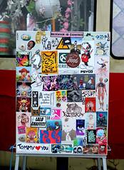 Stickercombo (wojofoto) Tags: amsterdam nederland netherland holland ndsm streetart stickers sticker stickerart stickercombo wojofoto wolfgangjosten wojo