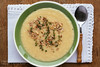 Apple Parsnip Soup with Thyme Walnut Garnish (haraldwalker) Tags: apple vegetables table soup spoon bowl vegetable appetizer meatless food fruit lunch vegan healthy walnut homemade meal vegetarian nut overhead rootvegetable freshness garnish pureed readytoeat apples thyme parsnip