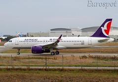 F-WWBU Airbus A320 Neo Air Macau (@Eurospot) Tags: lfbo toulouse blagnac fwwbu bmbp airbus a320 neo 9206 airmacau