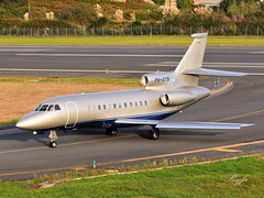 A Coruña (**REGFA**) Tags: avion aena alvedro aeropuerto acoruña dassault falcon 900c galicia airplane