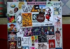 Stickercombo (wojofoto) Tags: amsterdam nederland netherland holland ndsm streetart stickers sticker stickerart stickercombo wojofoto wolfgangjosten wojo lembo