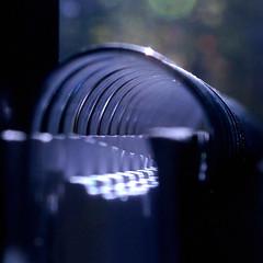 Tunnel vision (robjvale) Tags: nikon d3200 wire macromondays tunnel hmm