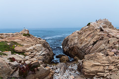17-Mile Drive - Point Joe (Yvonne Oelsner Photography) Tags: aquamarine 17miledrive pacificgrove monterey beach sky california pacificocean landscape seascape roadtrip azur rocks cliffs pointjoe