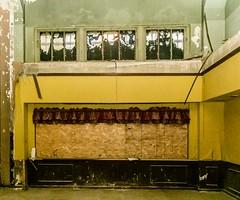 parlor (BradPerkins) Tags: abandoned abandonedbakery abandonedillinois bakery boardedup brown building chicago decay empty factory neglected reflection rufles schulzebakingcompany urbandecay urbanexploration urbanlandscape urbex wall window yellow yellowwall