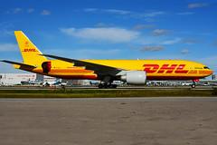 D-AALL (DHL  (Aerologic - Bryan Adams) (Steelhead 2010) Tags: dhl aerologic bryanadams boeing b777 b777200f yyz dreg daall cargo freighter
