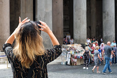 Shooting the Pantheon (Simon Downham) Tags: pantrhoen pantheon rome highlights nails false photographer
