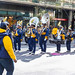The Thornwood High School Marching Band at the Columbus Day Parade in Chicago