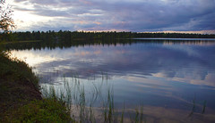 Tranquil evening (little_frank) Tags: mutusjärvi lapland finland lake nature evening summer night sky water waterscape forest waterfront tranquility tranquil silent silence suomi reflection mirror natural wonderful beautiful coast september clouds surface magic dream ripples waves peace peaceful