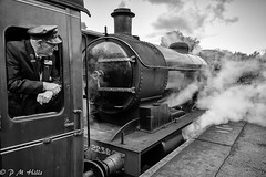 North York Moors Railway (Phil M Hills) Tags: carriage guard locomotive train steam