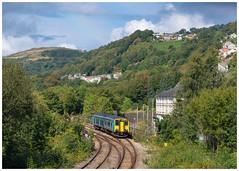 Local transport (Mark Gowing) Tags: 150245 pontypridd class150 dmu transportforwales localcommutertrain