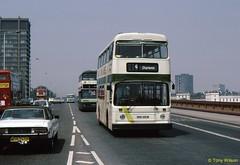 NNN480W Nottingham City Transport 480 (theroumynante) Tags: nnn480w nottingham city transport 480 leyland atlantean roe vauxhall bridge london bus buses stepentrance doubledeck road