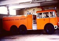 Thornycroft Gloster saro ACT Hurn Bournemouth (petros.williams@btinternet.com) Tags: alastaircollinscollection thornycroftnubian glostersaro xxxx62l hurn bournemouth highlandsaviationmuseum sumburgh