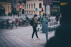 Streets (]vincent[) Tags: sweden sverige stockholm estocolmo winter cold white poeple portrait us sony rx 100 mk iv canon 50 mm abba hotel ginger beautiful girl street