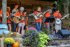 Young pickers and singers - Hagood Mill - Pickens, S.C. (DT's Photo Site - Anderson S.C.) Tags: canon 6d 135mml lens pickenssc hagood mill upstate south carolina sc pickers singers country music bluegrass banjo guitar young musicians kids entertainers vintage southern america usa rfd outside classic september fiddling autumn fall band