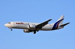 EC-MIE B737 4YO/SF Swift Air (corrydave) Tags: 26069 b737 b737400 b737400f b737f swiftair alicante ecmie