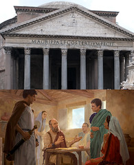 The Pantheon and Paul Under House Arrest in Rome (Simon Downham) Tags: rome pantheon pagan romans false gods god truth apostle paul religion christianity christian gospel good news prisoner house arrest