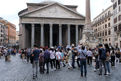 The Pantheon in Rome (Simon Downham) Tags: rome pantheon pagan romans false gods god truth ancient tourists temple religion roman italy