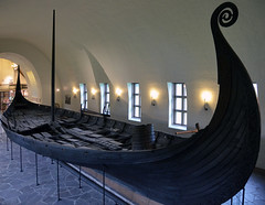 Oseberg ship in the Viking Ship Museum (Al Case) Tags: viking ship oseberg museum oslo ferry bygdøy vikingskipshuset på al case nikon d7000 nikkor 18200mm norway 9th century longship