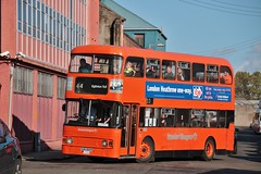 Preserved Greater Glasgow CUS 302X (LA1448) | 2019 GVVT Open Weekend Shuttles | Broad St, Bridgeton (Strathclyder 2.0) Tags: greaterglasgow greater glasgow leyland atlantean an68a1r alexander atype cus302x cus 302x la1448 bridgeton broad street scotland gvvt glasgowvintagevehicletrust strathclydepte strathclyde pte strathclydesbuses strathclydes buses sbl first