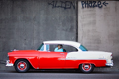 Life's Just a Cocktail Party on the Street (Thomas Hawk) Tags: america bayarea belair california chevrolet chevroletbelair chevy chevybelair northerncalifornia sf sfbayarea sanfrancisco usa unitedstates unitedstatesofamerica westcoast auto automobile car graffiti norcal fav10 fav25 fav50 fav100